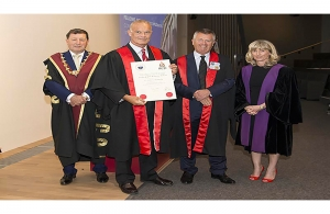 Dr. John G. Kennedy Honored by Royal College of Surgeons in Dublin, Ireland
